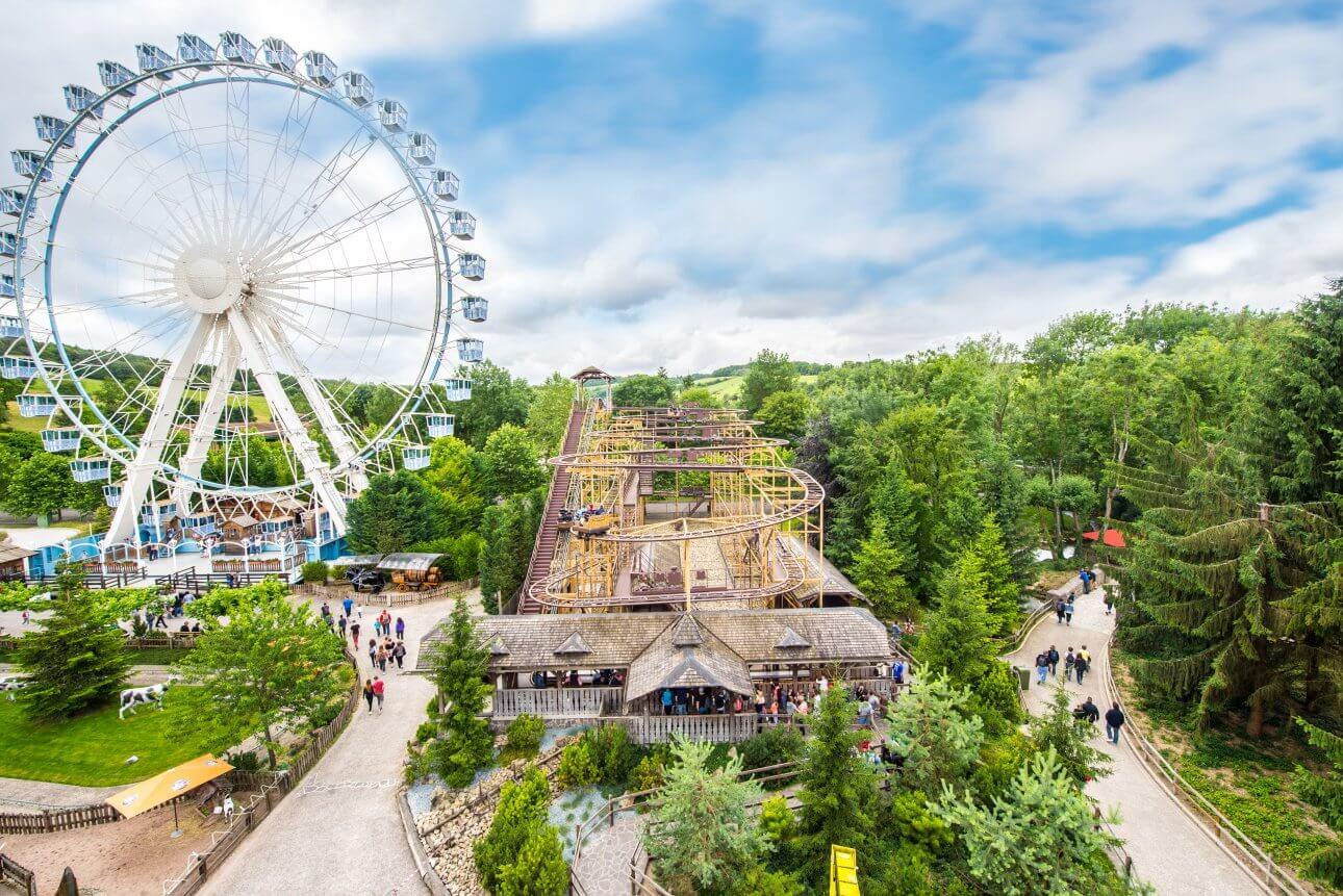 les meilleurs parcs d'attractions de france carte et infos