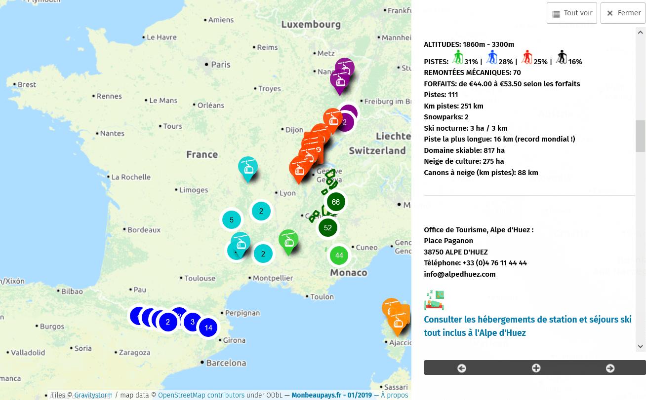 station ski jura carte ⛷ Carte des stations de ski en France 🗺️|prix forfaits 2020