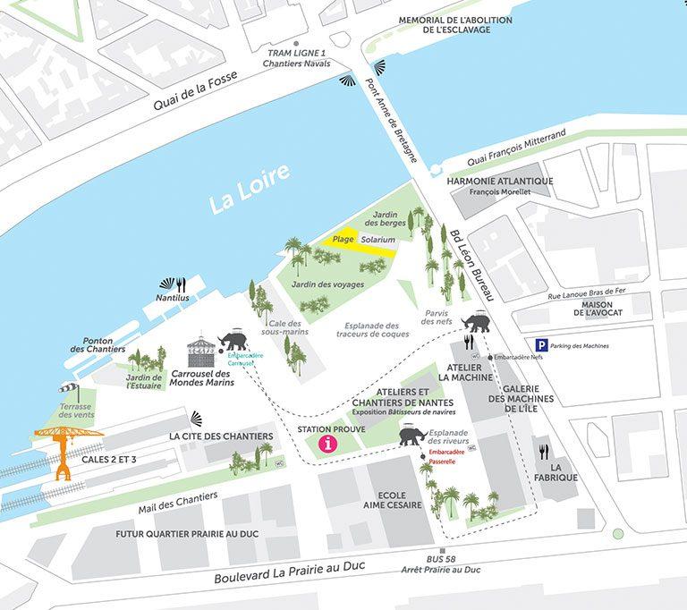 Les meilleurs parcs d'attractions de France, Carte et infos. 77