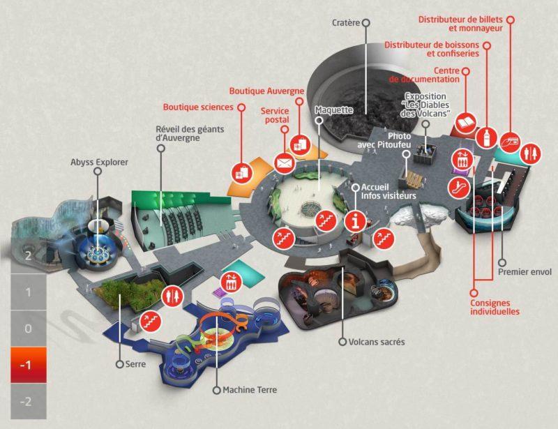 Les meilleurs parcs d'attractions de France, Carte et infos. 121