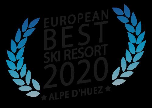Médaille de la meilleure station de ski 2019 pour l'Alpe d'Huez