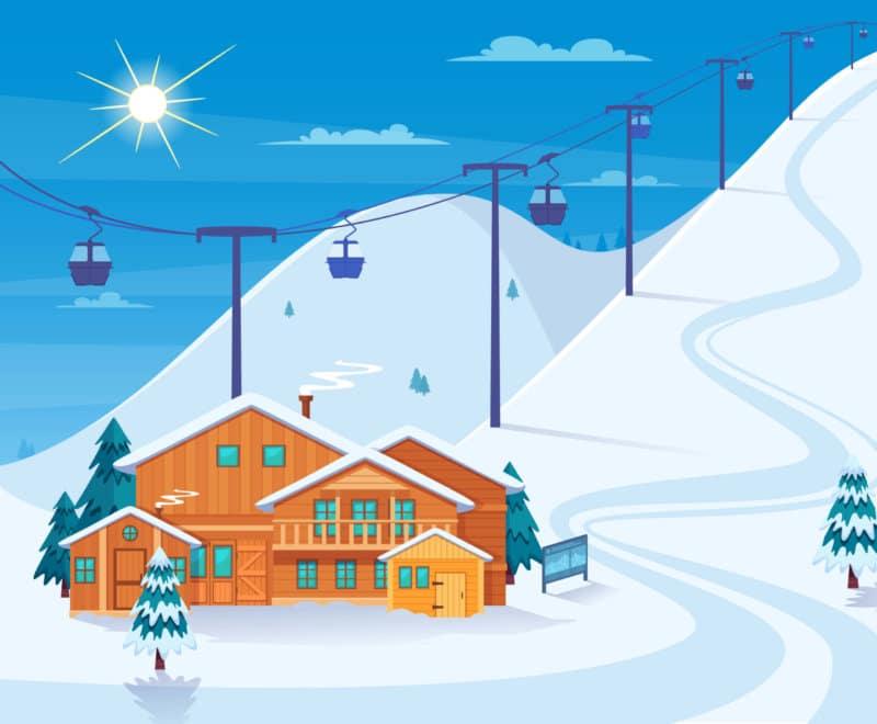 Carte des stations de ski des Pyrénées