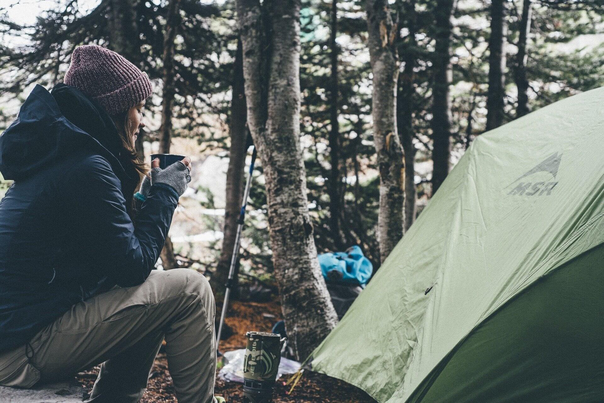 camping illustration pour camping chez l'habitant